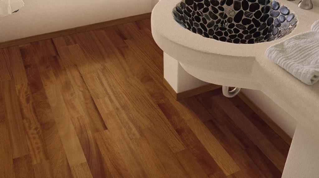 Houten vloer badkamer hasselt diepenbeek genk loft interieur - Badkamer vloer ...