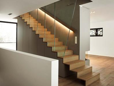 betonnen trap bekleden