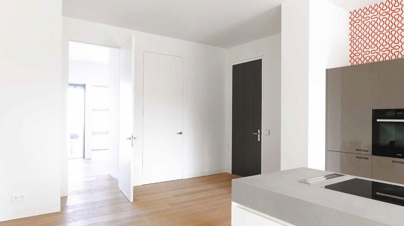 deuren zonder omlijsting