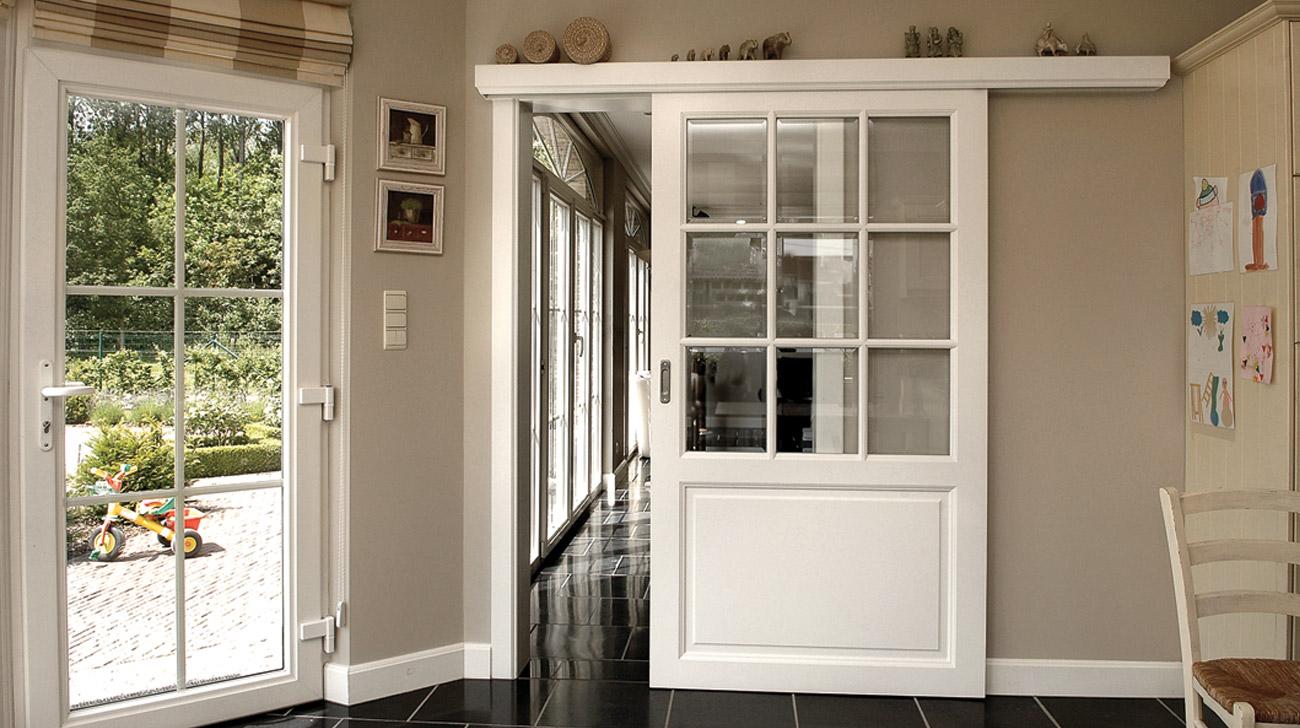 Houten binnendeuren loft interieur for Klinken voor binnendeuren