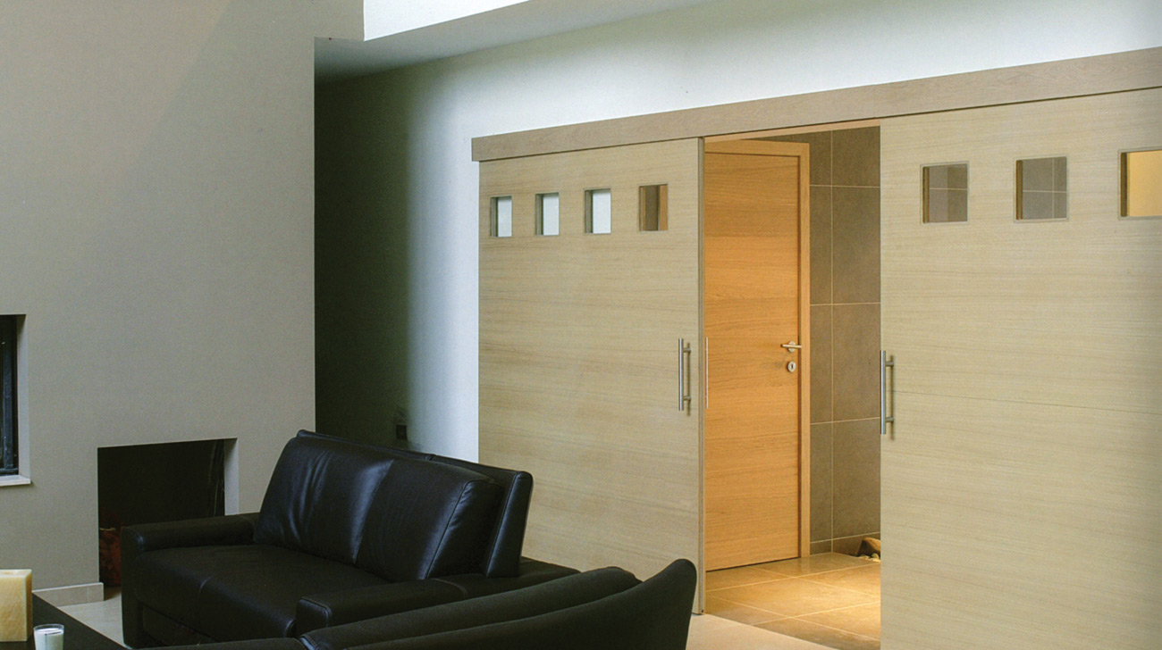 Schuifdeuren binnen loft interieur for Binnen interieur